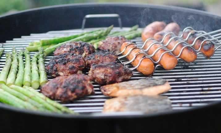 Barbecue aluminium