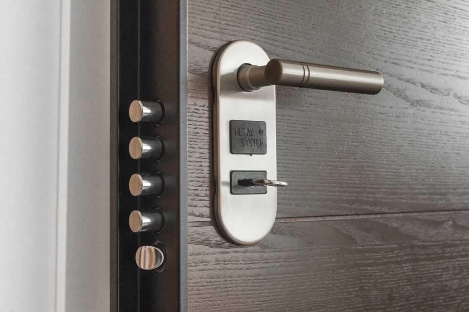 Poignée de porte aluminium